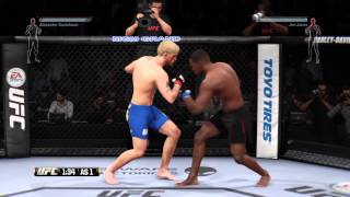 Alexander Gustafsson VS Jon Jones UFC PS4