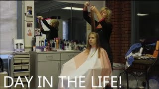 Repeat youtube video Day In The Life of a Mommy/HairStylist & 2 Year Old! - HairStylistHeather