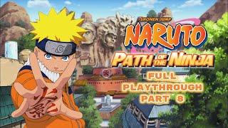 Naruto: Path of the Ninja | Battle on the Bridge: Squad 7 vs. Zabuza & Haku | Part 8