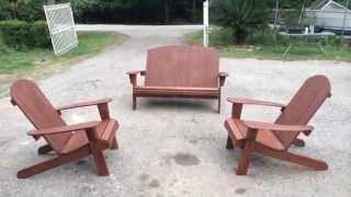 J&f Custom Wood Patio Furniture