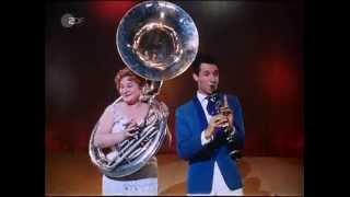 Silvio Francesco, der trotz unbestreitbaren Könnens den Jazz leider nicht allzu ernst nimmt.