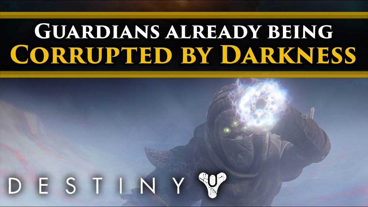 Destiny 2 Lore - Guardians and Ghosts are already being corrupted by the Darkness of the Pyramids!