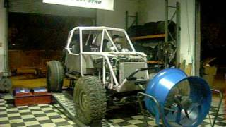 "Ford Buggy 4.6 Dyno Run '03 Cobra Mustang 275hp (rw) Eb Early Bronco On 42""s"