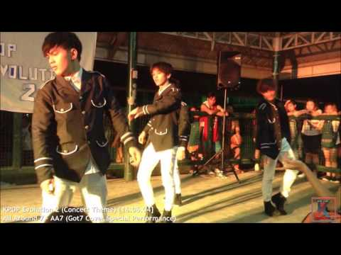 All Around 7 - AA7 (Got7 Cover Special Performance) on KPOP Evolution 2 (Concert Theme)