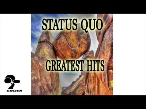 STATUS QUO greatest hits PART 1 by John Coghlan