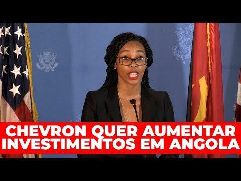 Chevron quer aumentar investimentos em Angola
