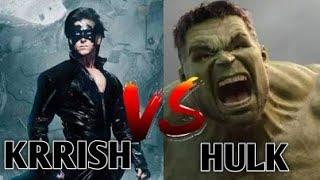Krrish vs Hulk in Hindi    ft. Andro cyclone    multi versh