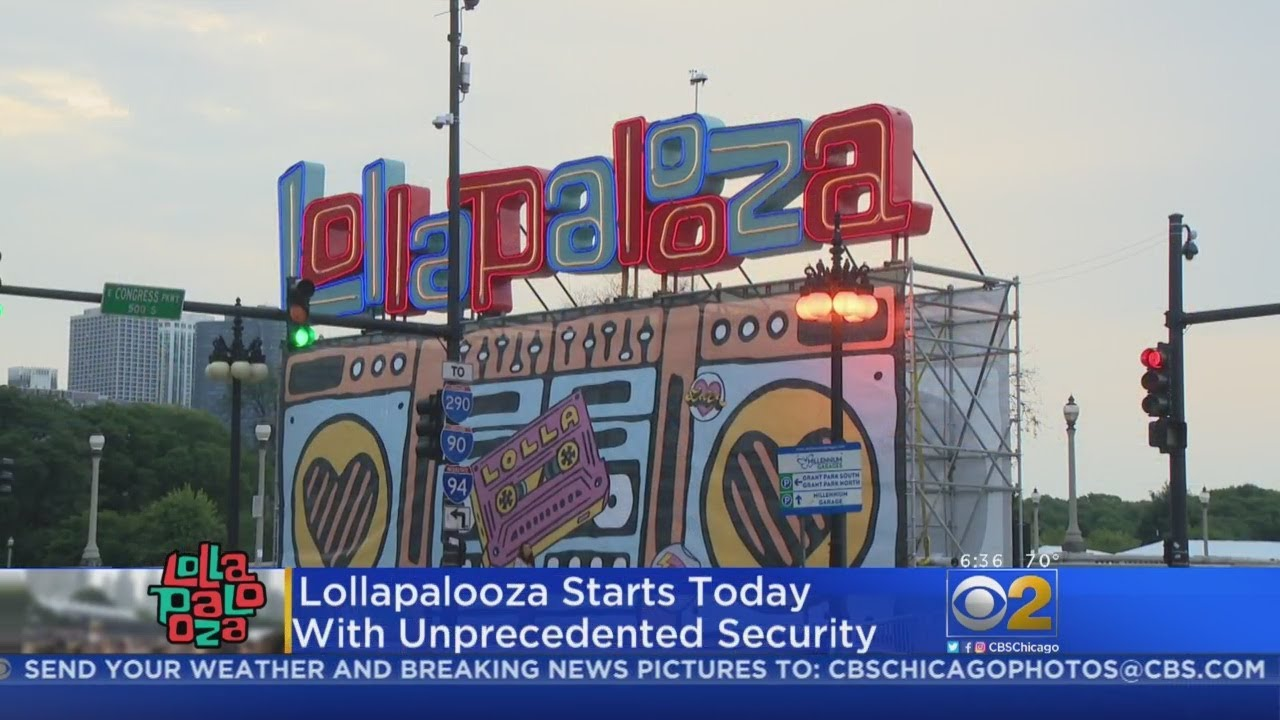 Lollapalooza 2018: Increased Security In Place For 4-Day Festival