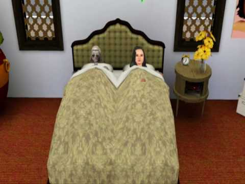 Sims 3 Woman has Woohoo with Robot