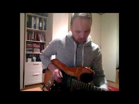 prog solo on Blade Levinson RH2