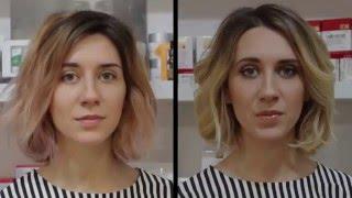 Для мелирования волос используется