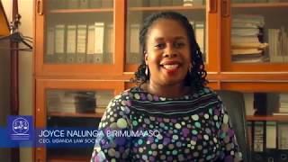 Joyce Nalunga Birimumaso, CEO of Uganda Law  Society