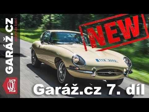 GARÁŽ.cz 07: Ford Mustang, Jaguar E-Type, Škoda Rapid vs. Fiat Tipo, Renaulty