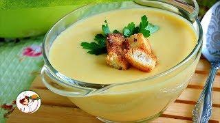 Грибной крем-суп с кабачками и гренками. Ну, очень ВКУСНО и ПОЛЕЗНО!