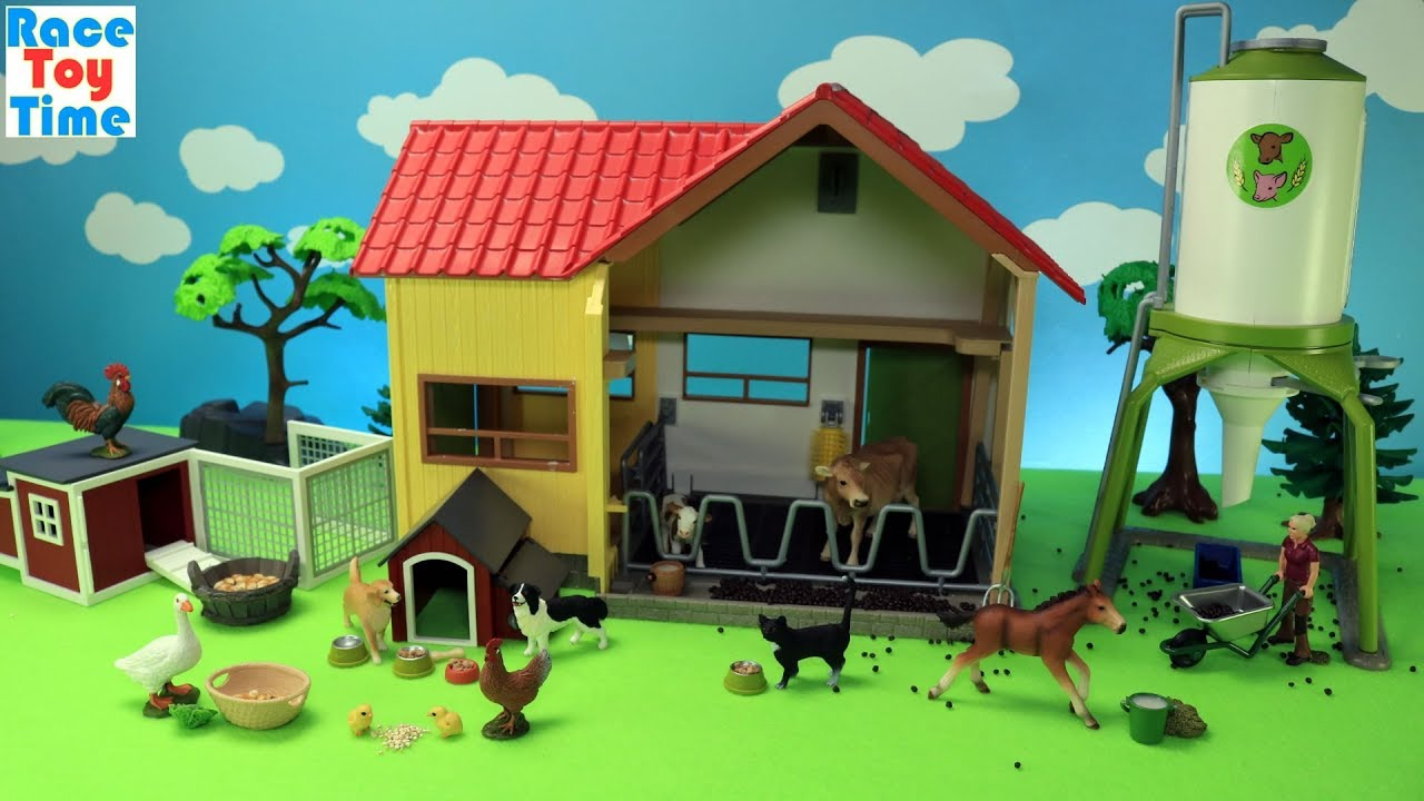 Schleich Farm Animals Playsets - Fun Animal Toys For Kids ...