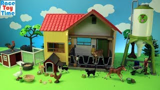 Schleich Farm Animals Playsets - Fun Animal Toys For Kids