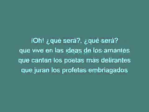 Ana Belén   Qué será [karaoke]