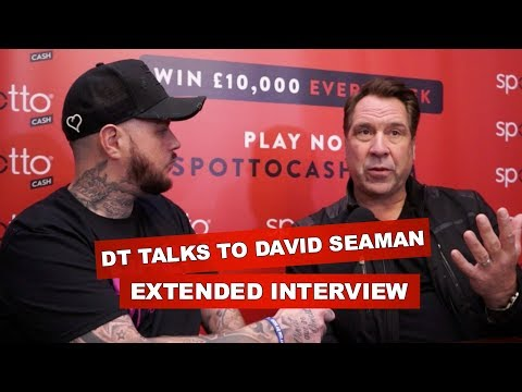 WHAT DOES DAVID SEAMAN MAKE OF ARSENAL'S AGM MEETING? - EXTENDED INTERVIEW