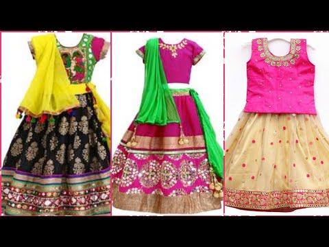 Top Stylish Lehnga Choli Designs For Baby Girls