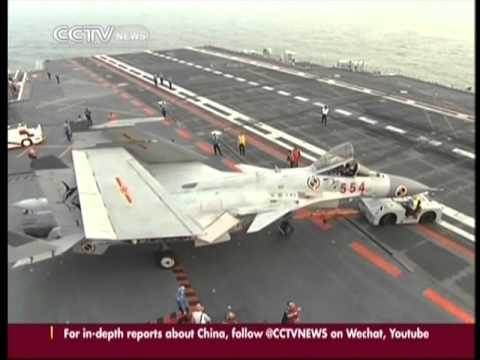 China's aircraft carrier mission:The Liaoning passes through Taiwan Strait