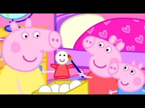 Peppa Pig em Português   Irmãos e Irmãs   Compilação   Desenhos Animados   Desenhos Animados