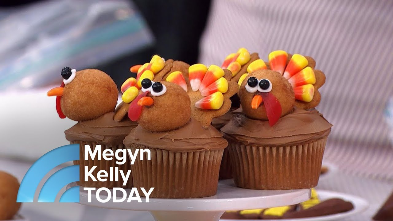 Karen Tack Shares Festive Cupcake Decorations To Sweeten Thanksgiving Dinner Megyn Kelly Today