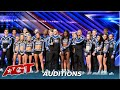 Wildcats: Texas All Star Cheerleading Team WOW The Judges With NO Audience on 'AGT'