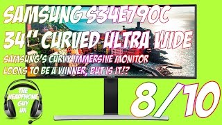"Samsung S34E790C - 34"" Ultra Wide Curved Monitor - Full Review"