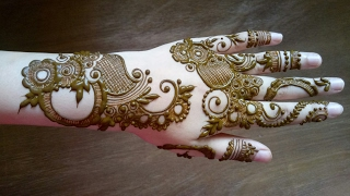 Eid special henna design #10 ..2017