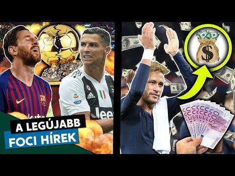 Ronaldo és Messi is lemondhat az Aranylabdáról? Neymar a tapsolásért is pénzt kap!  Foci Hírek