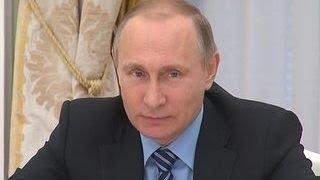 Путин встретился с главой МИД Франции
