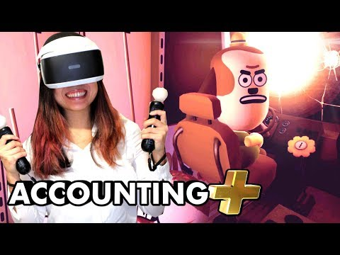 NEW WEIRD IN ACCOUNTING PLUS! | Accounting+ VR Gameplay (PSVR - PlayStation VR)