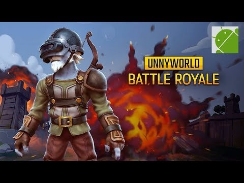 UnnyWorld Battle Royale MOBA - Android Gameplay HD