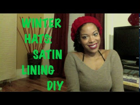 3c3d04499d6 Easy Winter Hat Lining DIY to Prevent Hair Dryness for Naturals ...