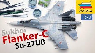 Sukhoi Flanker-C scale model - Full Build Video