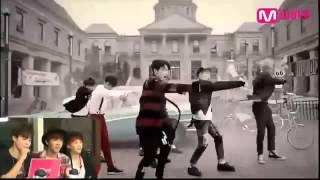 [ENG] 141023 BTS React to WAR OF HORMONE mv