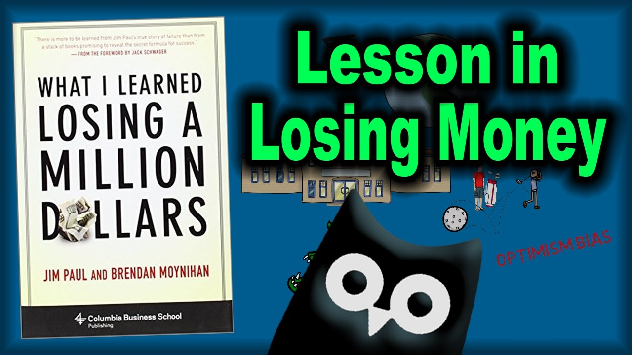 Losing Money In Stocks What I Learned Losing A Million Dollars Animated Book Review