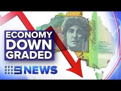 Australia's Economic Growth Downgraded By The OECD | Nine News Australia
