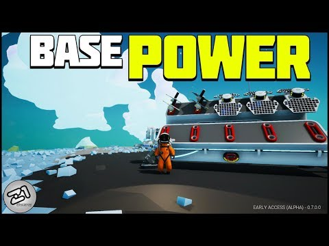 Powering the Base and BUILDING MORE! Astroneer Update 7.0 Rover Update EP4 | Z1 Gaming