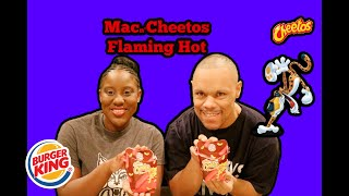 The Fairly Odd Couple Taste Test Burger King's Flamin Hot Mac n' Cheetos