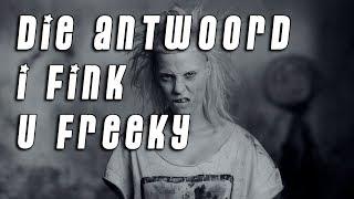 Разбор и Перевод Die Antwoord I Fink U Freeky