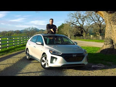 2017 Hyundai Ioniq EV: A fully electric compact car - FIRST DRIVE REVIEW
