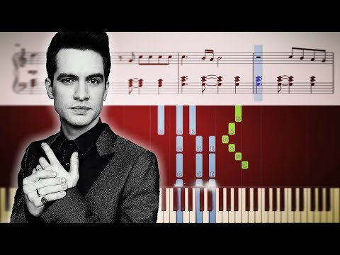 Panic! At The Disco: Dying In LA - EASY Piano Tutorial + SHEETS