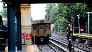 MTA New York City Subway: Vintage Trains On The Brighton Line For The BMT 4th Ave Line Anniversary