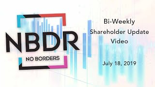 No Borders, Inc. July 18th Shareholder Update Video