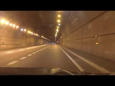 Spain by Road - Vic to Olot - C-37 - Tunnel Bracons etc