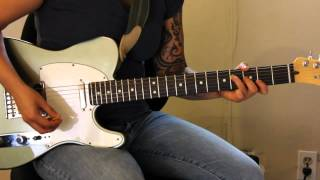 "How to play ""Love and Happiness"" by Al Green on guitar - Jen Trani"