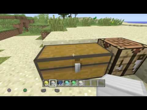 Minecraft Creative To Survival Glitch All Items Tu