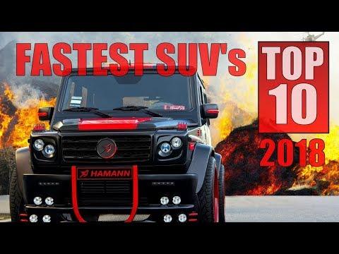 2018 TOP 10 Fastest SUV's