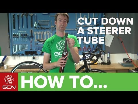 How To Cut Down Your Bike's Steerer Tube